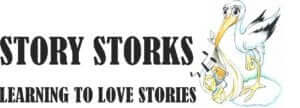logo-tagline-and-stork-learning-to-love-stories