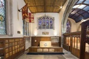 Memorail Chapel wide angle